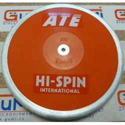 ATE-disk HI SPIN INTERNATIONAL 750g, STEEL RIM(80%), ABS, trénink